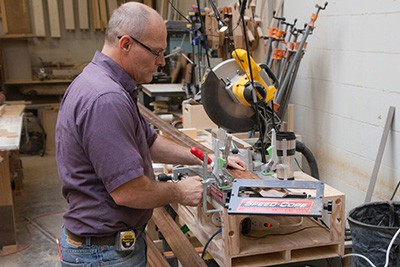 Custom Woodworking Shop